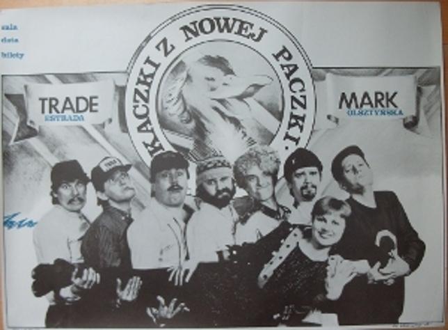 1. Kaczki z Nowej Paczki - plakat