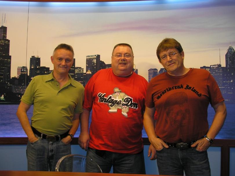 Chicago 2007 - po wywiadzie w Telewizji Polvision