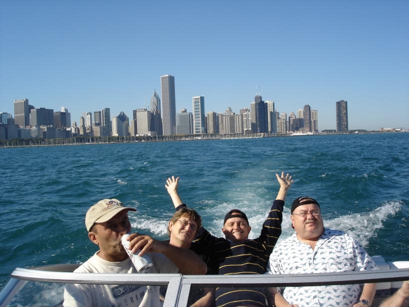 11. Chicago 2007 - po koncertach z okazji 25.lecia