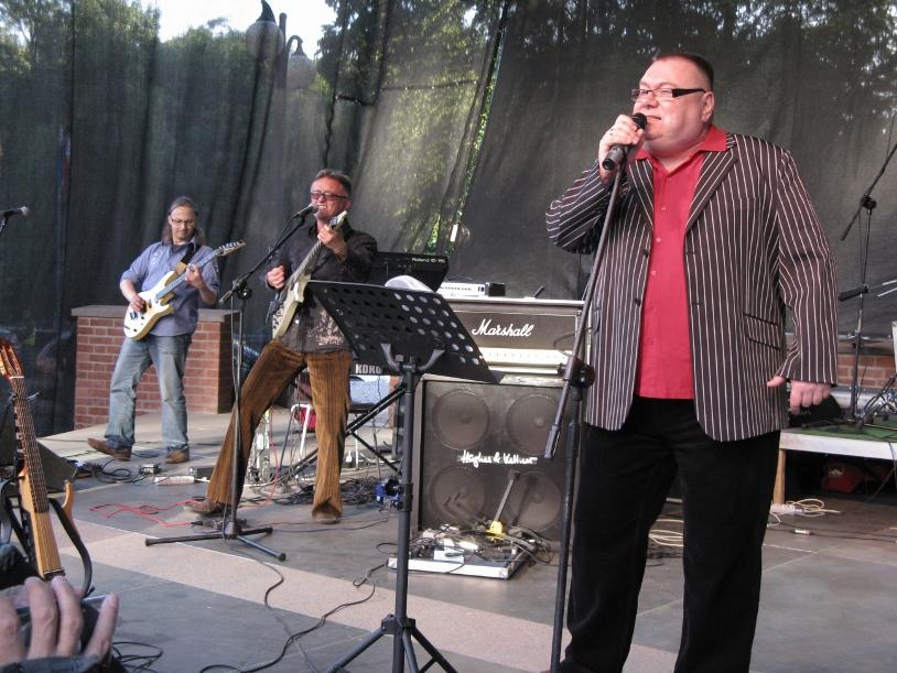 Podczas PARODIOLI w olsztyńskim amfiteatrze - 2009