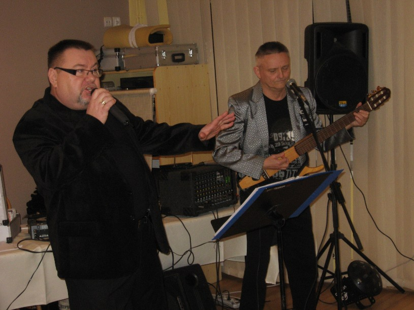A. Z. Brzozowski i Zb. Rojek  w duecie - Niedzica 2011