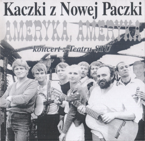 2. Zdjęcie okładki z płyty pt.Ameryka, Ameryka - 1983