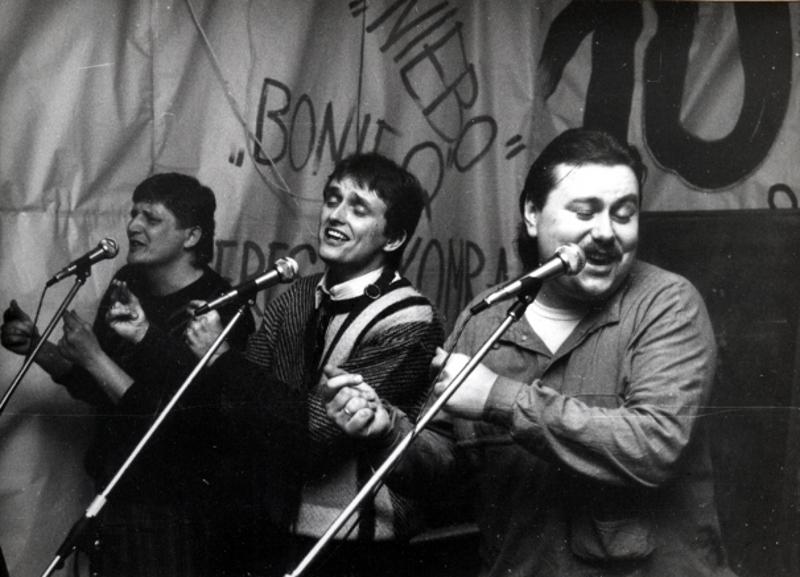 4. Występ w studenckim klubie LUZAK 1987 r.