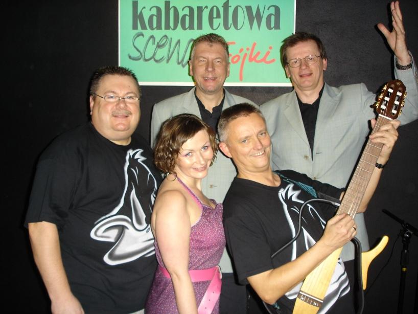 8. Teatr Korez w Katowicach 2007 - Kabaretowa Scena Trójki - z przyjaciółmi z kabaretu Długi